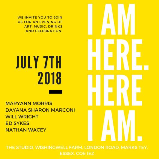 """I can hear you now"" project at 'I am Here – Here I am' Art event"