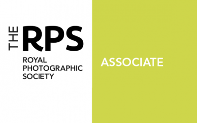 Now an Associate member of the Royal Photographic Society!