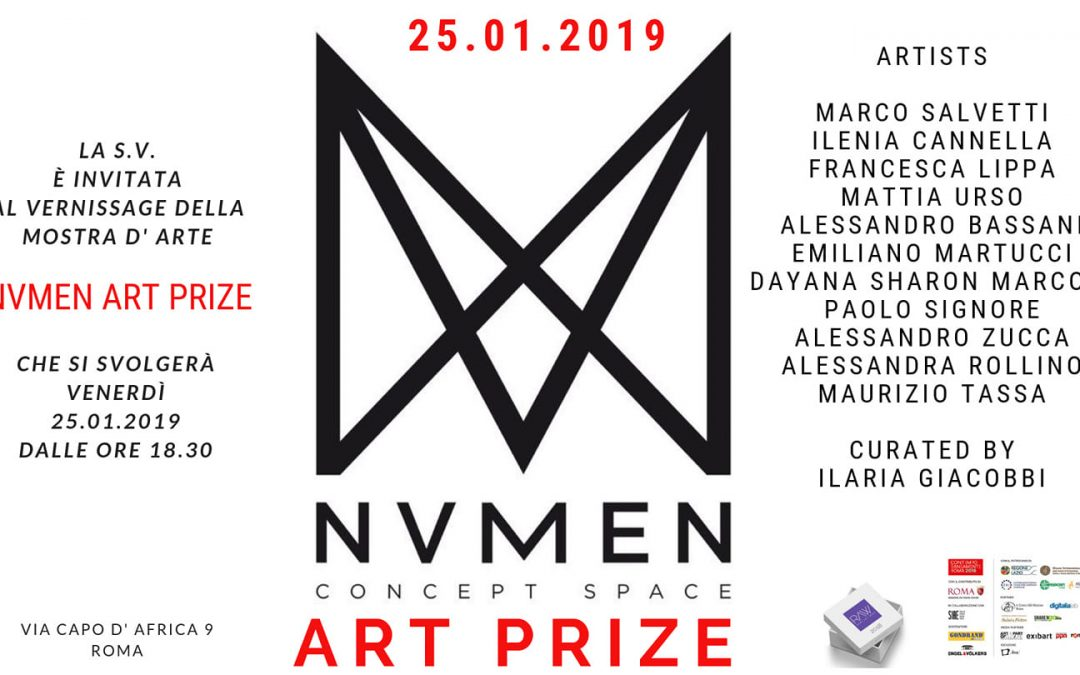 """I can hear you now"" at NVMEN Art Prize in Rome!"