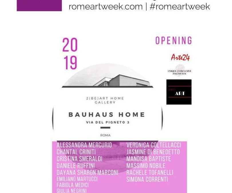 The Room Exhibition – Rome Art Week 2019.