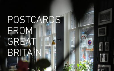 "My work selected for the ""Postcards from Great Britain"" exhibition."